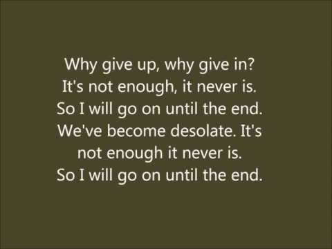 Until The End - Breaking Benjamin (cover) video