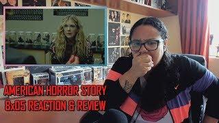 "American Horror Story: Apocalypse 8x05 REACTION & REVIEW ""Boy Wonder"" S08E05   JuliDG"