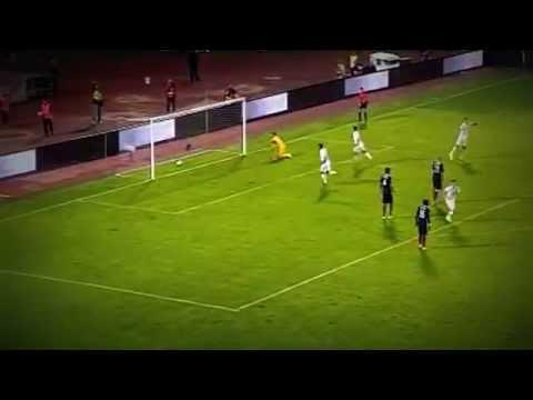 Aleksandar Kolarov Amazing Goal Serbia 1:1 France (Friendly Match) (07.09.2014)
