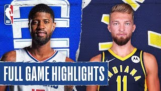 CLIPPERS at PACERS | FULL GAME HIGHLIGHTS | December 9, 2019