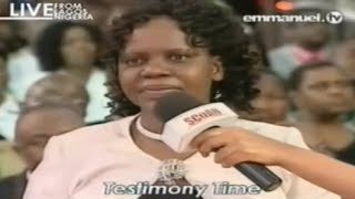 SCOAN 31/08/14: Powerful Anointing Water Testimony, Emmanuel TV
