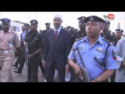 Dr Zakir Naik's Lecture Tour To Nigeria video