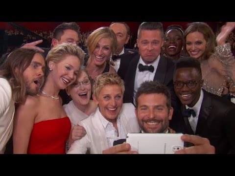 Oscars Best Dressed + Jennifer Lawrence Falls & Benedict Cumberbatch Photobombs - Totally Clevver