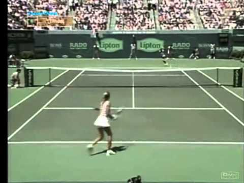Venus Williams vs Anna Kournikova 1998 Lipton Highlights