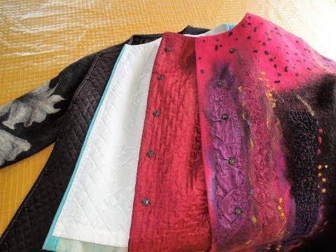 3 вида подкладок к моим пальто