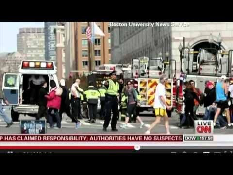 BU Student Journalists Cover 2013 Marathon Bombing