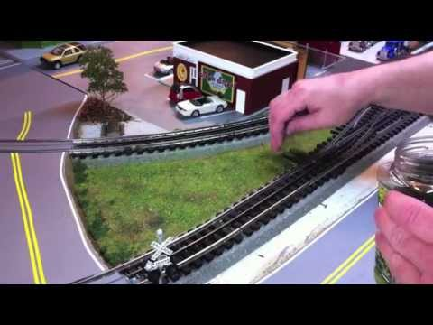 Easy Scenery for Model Railroad