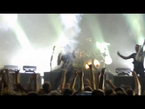GOJIRA- Only Pain live- B90 Gdańsk 2017