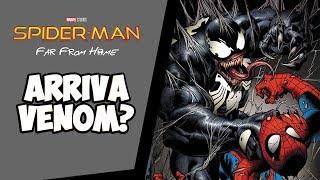 Spiderman Far From Home: VENOM di Tom Hardy nel SEQUEL del film