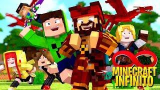 O LOCAL DA VILA DOS YOUTUBERS - Minecraft Infinito #4