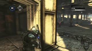 La manera PERFECTA de terminar una partida de One Shot One Kill - Gears of War 3