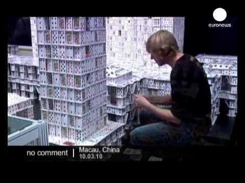 A világ legnagyobb kártya-épülete