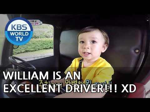 William is an excellent driver! XD [The Return of Superman/2018.07.15]