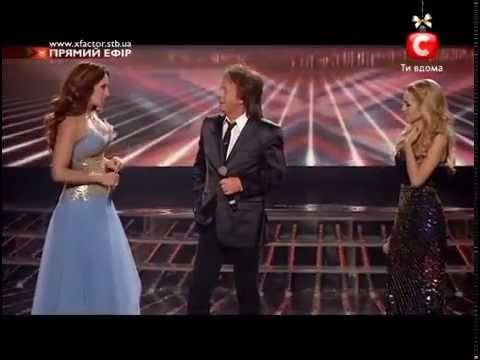 Аида Николайчук и Крис Норман   Chris Norman & Aida Nikolaychuk X Factor