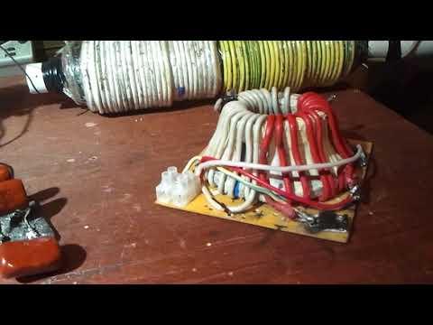 Резонансный трансформатор и некоторые его применения