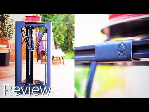Stealth black: The Layer One Atom 2.0 delta 3D printer review!