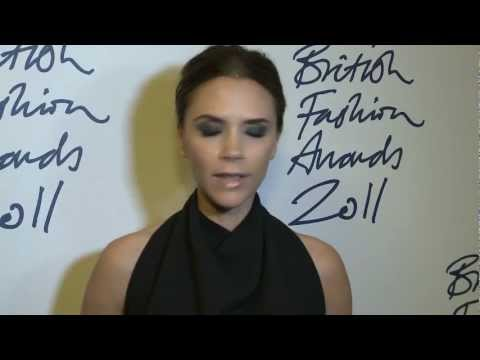 British Fashion Awards 2011, Designer Brand Award, Victoria Beckham
