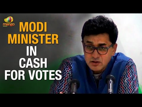 PM Modi must dismiss Cabinet Minister involved in Cash for Vote Scam: Congress | Chandrababu Naidu