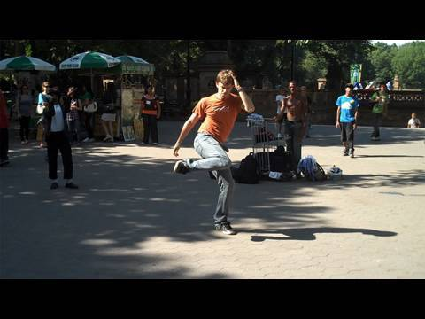 COREY VIDAL DANCES LIKE MICHAEL JACKSON IN CENTRAL PARK!!! Music Videos