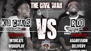BRL PRESENTS: THE CIVIL WAR | KID CHAOS VS. ROD