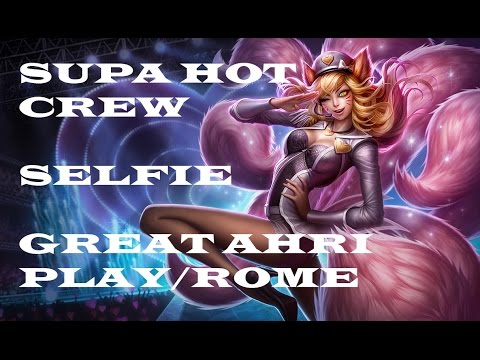 SHC Selfie Great Ahri play/rome - SHC vs GMB - EU LCS Summer Split 2014
