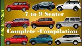 Mahindra Marazzo to Bolero ,7 to 9 seater, Complete compilation / In hindi