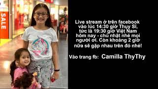 Khoảng  2 tiếng nữa live stream trên facebook cả nhà ơi….