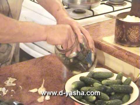 Огурцы малосольные от Дяди Яши