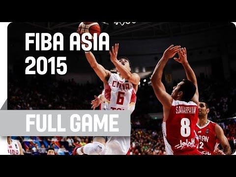 China v Iran - Semi-Final - Full Game - 2015 FIBA Asia Championship