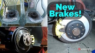 Audi A3 8P - Gets New Brakes!