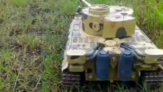 Test Drive RC Tiger Tank 1:16