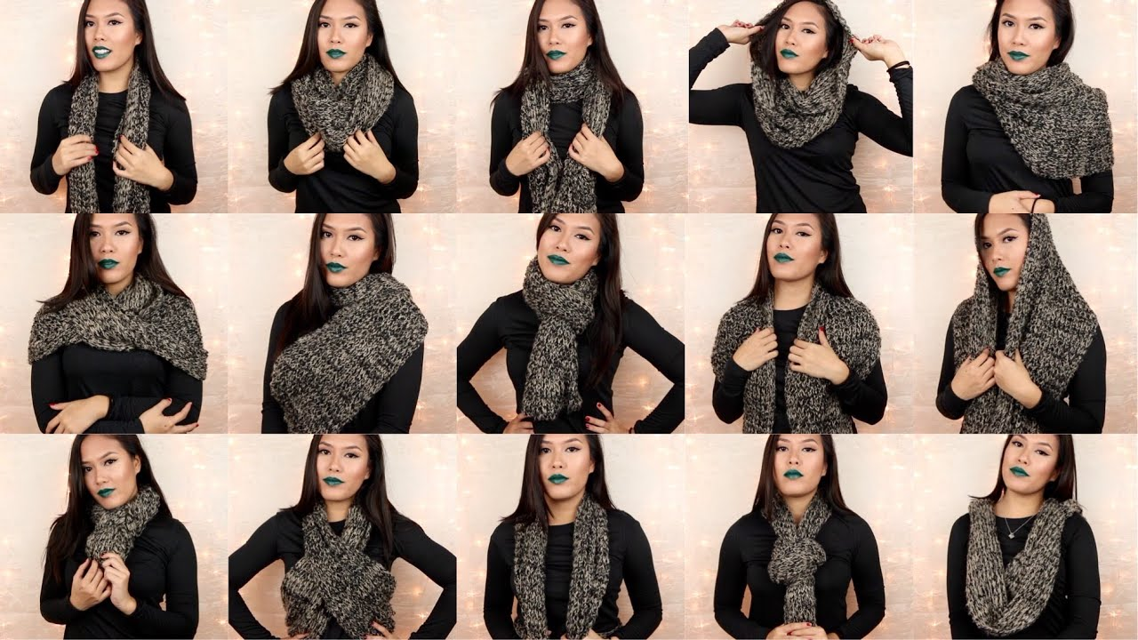 Tie Your Scarf with Style pics