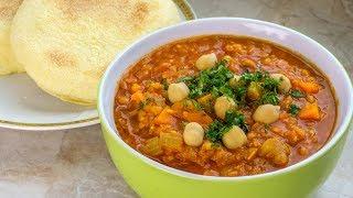 Download Lagu Moroccan Harira -  Red Lentil Soup Recipe  - Vegan Vegetarian Gratis STAFABAND