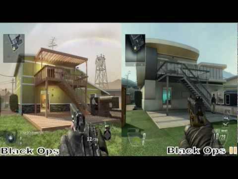 Call of Duty Comparison: NukeTown between Black Ops & Black Ops 2