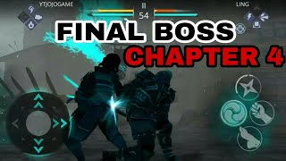 Shadow Fight 3 Chapter 4 Final Boss - Ling (June's Side Only)