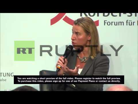 Germany: 'EU working on political solution to Ukraine' - Federica Mogherini