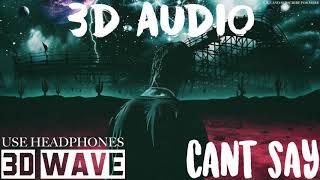 Travis Scott Can 39 T Say 3d Audio Use Headphones