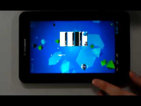 Android 4.0 ICS on Lenovo Lepad A1