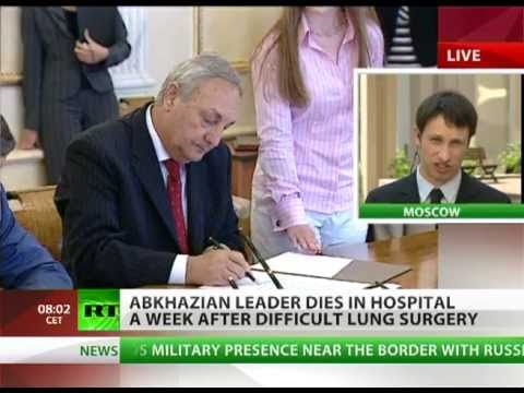 President of Abkhazia dies in Moscow hospital after surgery