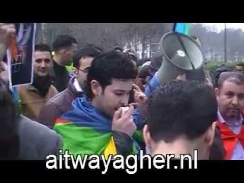 Manifestation 17 mars 2012 devant l'ambassade marocain de Bruxelles, en solidarité avec le Rif 5