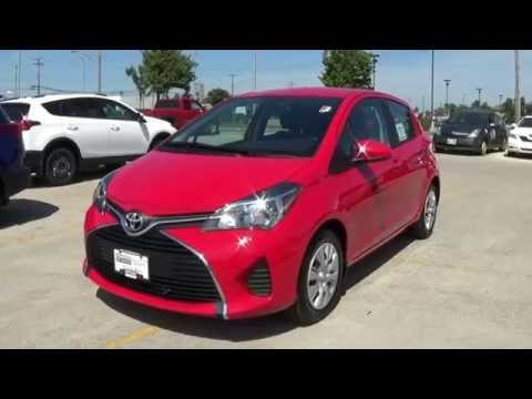 2015 Toyota Yaris LE Review. Start up and Walkaround