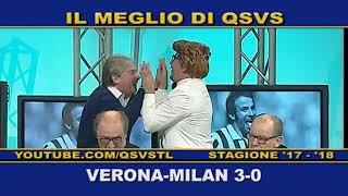 QSVS - I GOL DI VERONA - MILAN 3-0 - TELELOMBARDIA / TOP CALCIO 24