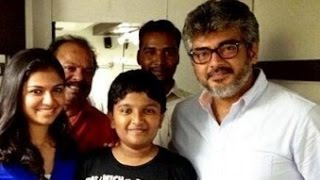 Actor Ajith Helps 2.65 Lakhs to an Artist Son