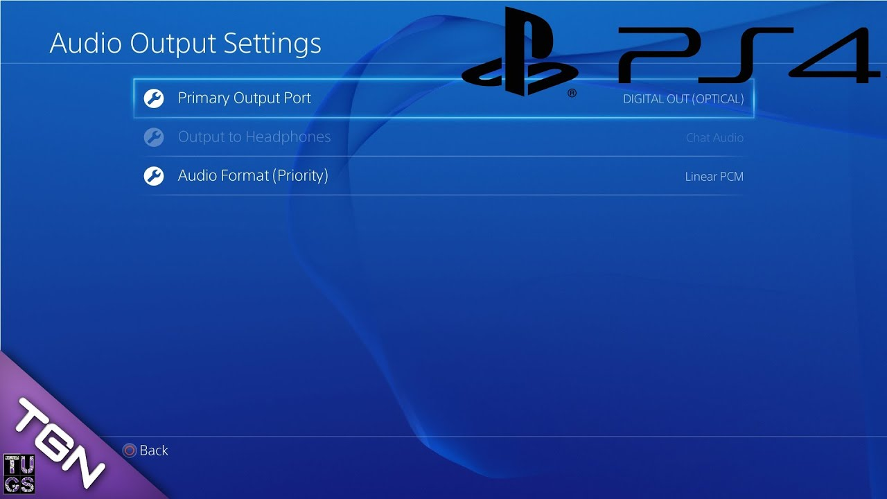how to connect ps4 to monitor with sound