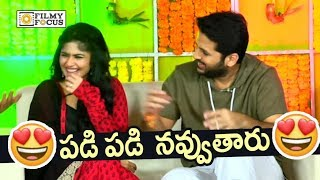 Nithin and Megha Akash Reveals Funny Moment on Chal Mohana Ranga Sets