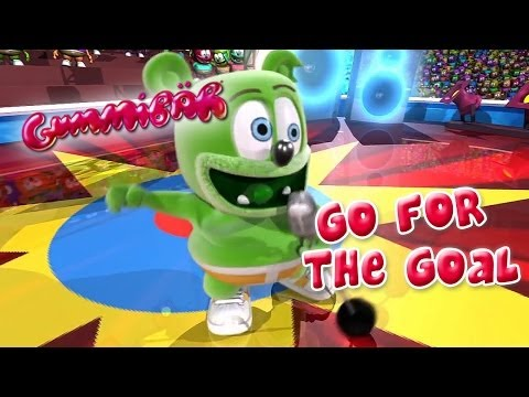 Gummibär - Go For The Goal - World Cup Football Song English Funny Gummy Bear England Australia