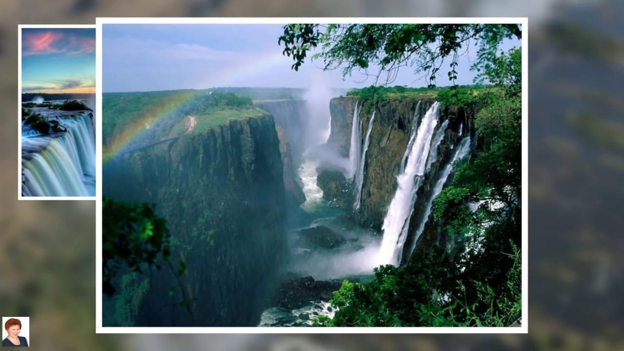 Красивые водопады мира фото и их названия