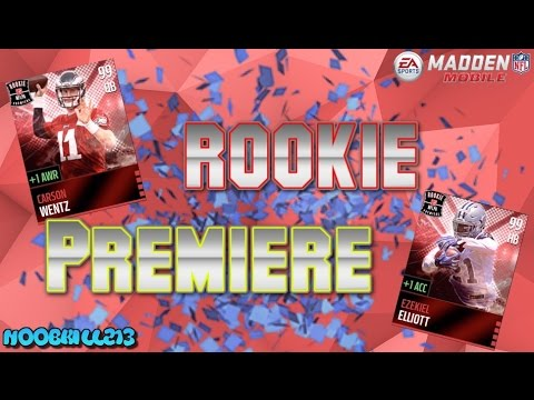 Rookie Premiere Showcase!! Madden Mobile 16