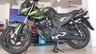 #Bikes@Dinos: Yamaha SZ-RR V2.0 2016 Matte Green, Red Dash Walkaround Review