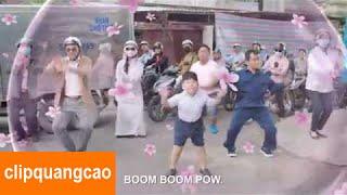 Quảng Cáo Downy Boom Boom Pow Hài Hước Cho Bé Cười Tươi [Full HD]